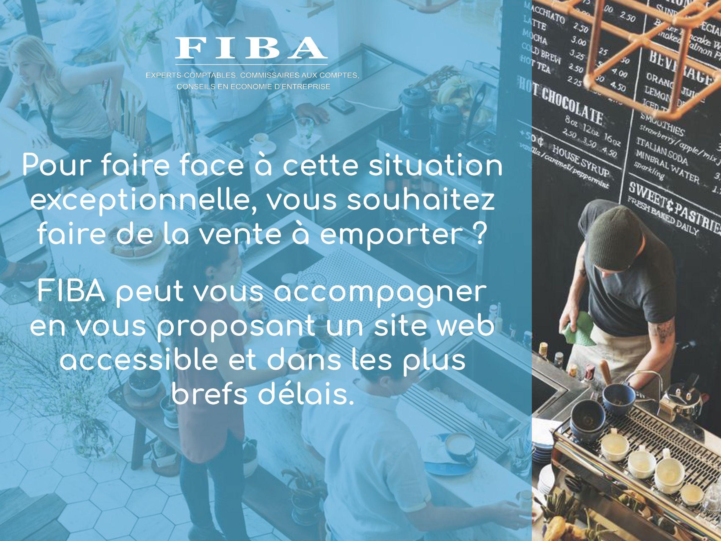 FIBA accompagne les restaurateurs dans leur stratégie de vente à emporter