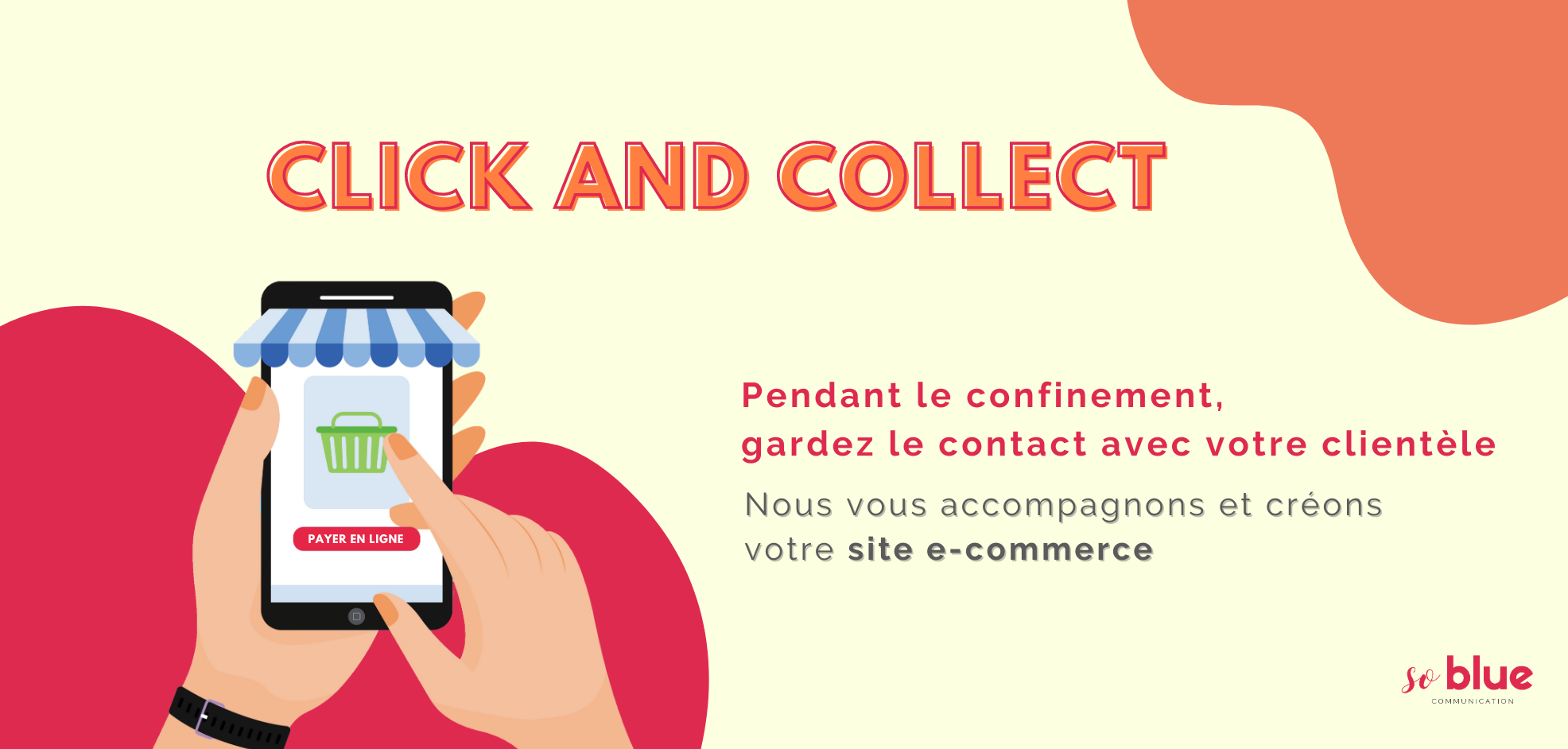 Click and Collect : garder le lien client-commerçant